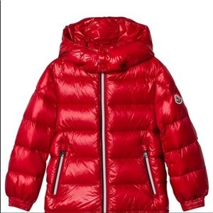 Unisex Red Moncler